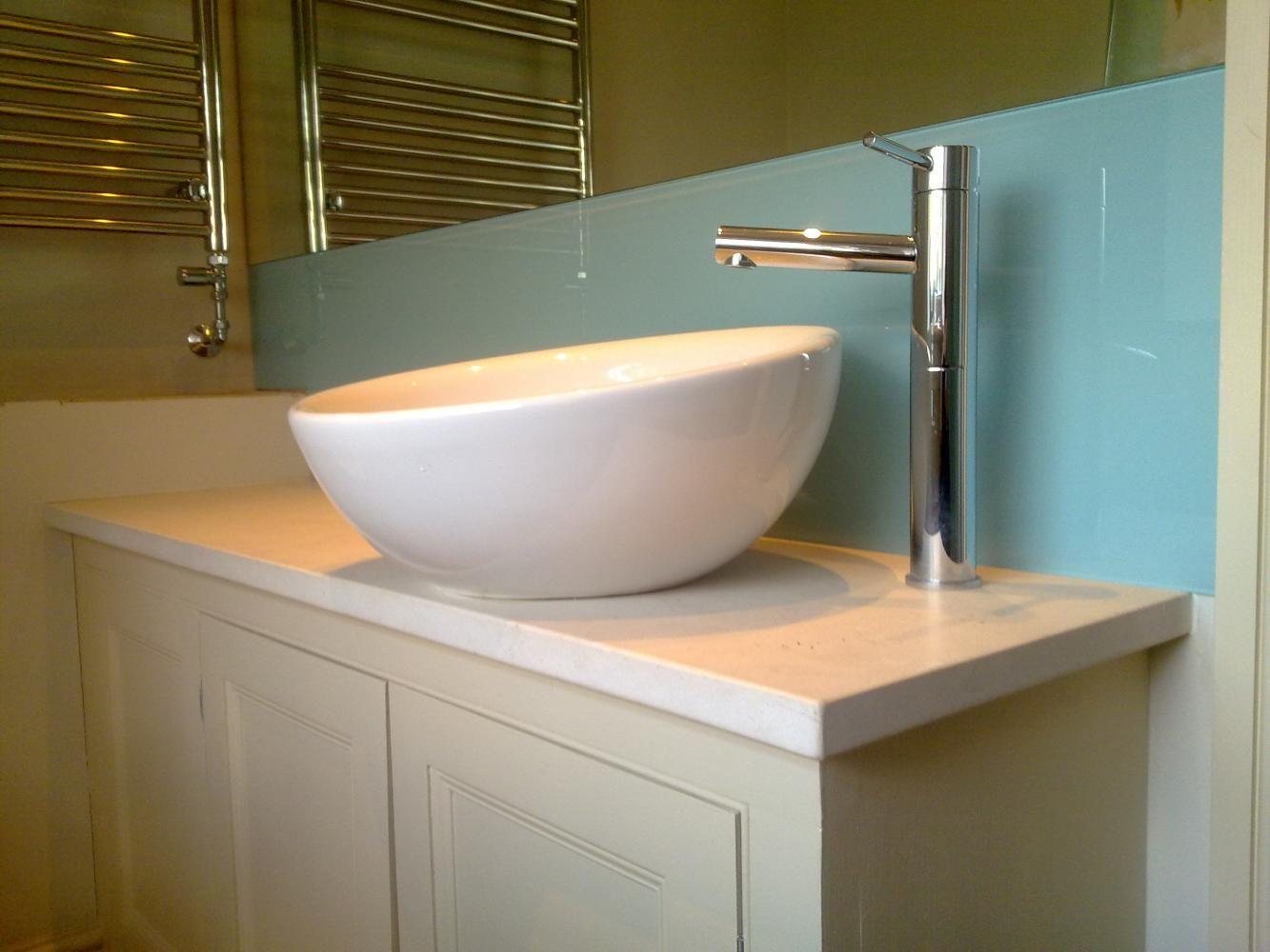 Splashback For Bathroom Sink. Image Result For Glass Basin Splashback