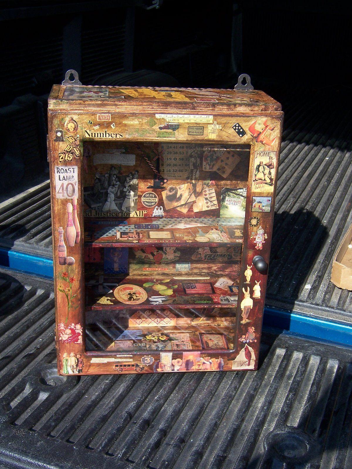 Little Old Medicine Cabinet Sold