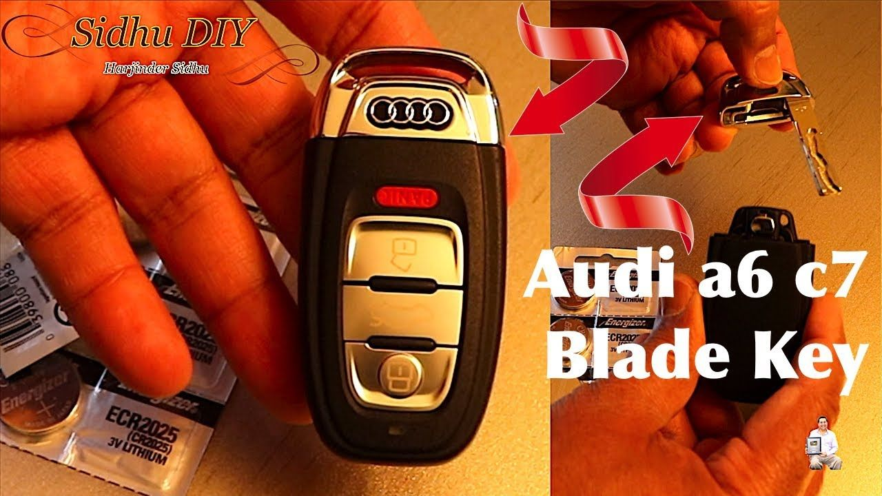 SOLVED How To Open Audi Door with Spare Blade Key