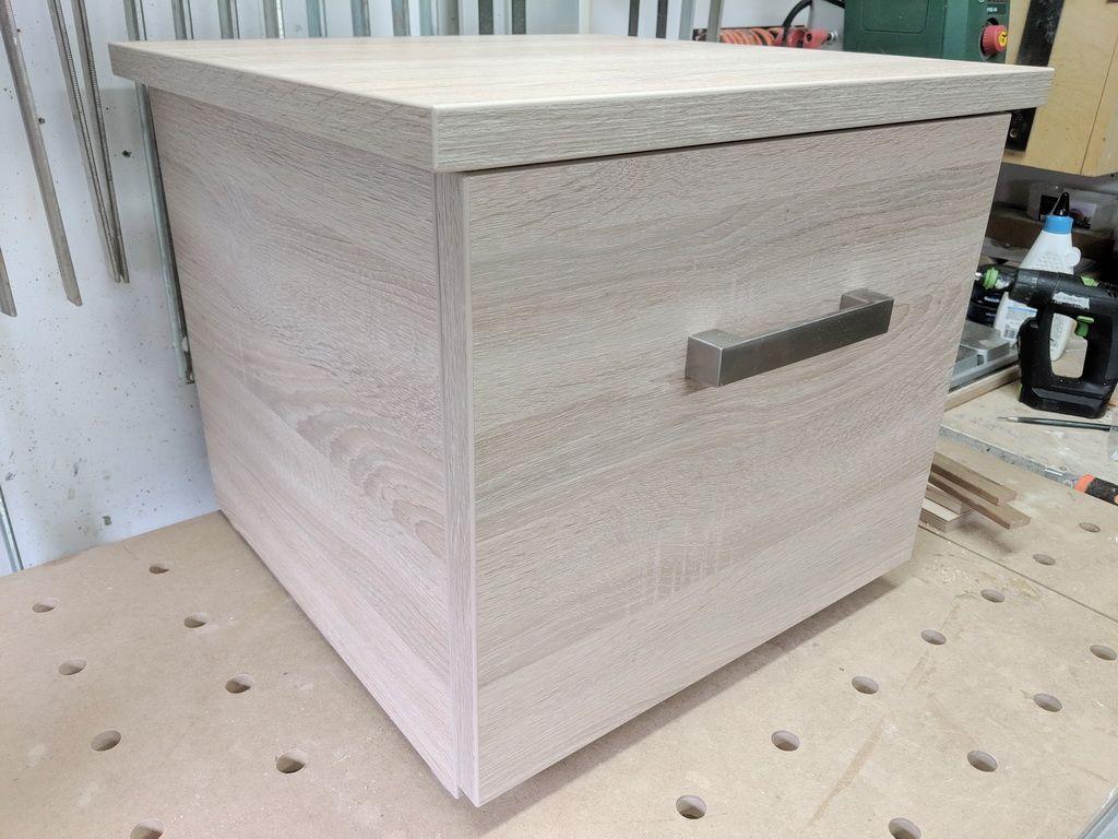 Hocker mit Schublade selber bauen   Holzwerkerblog ...
