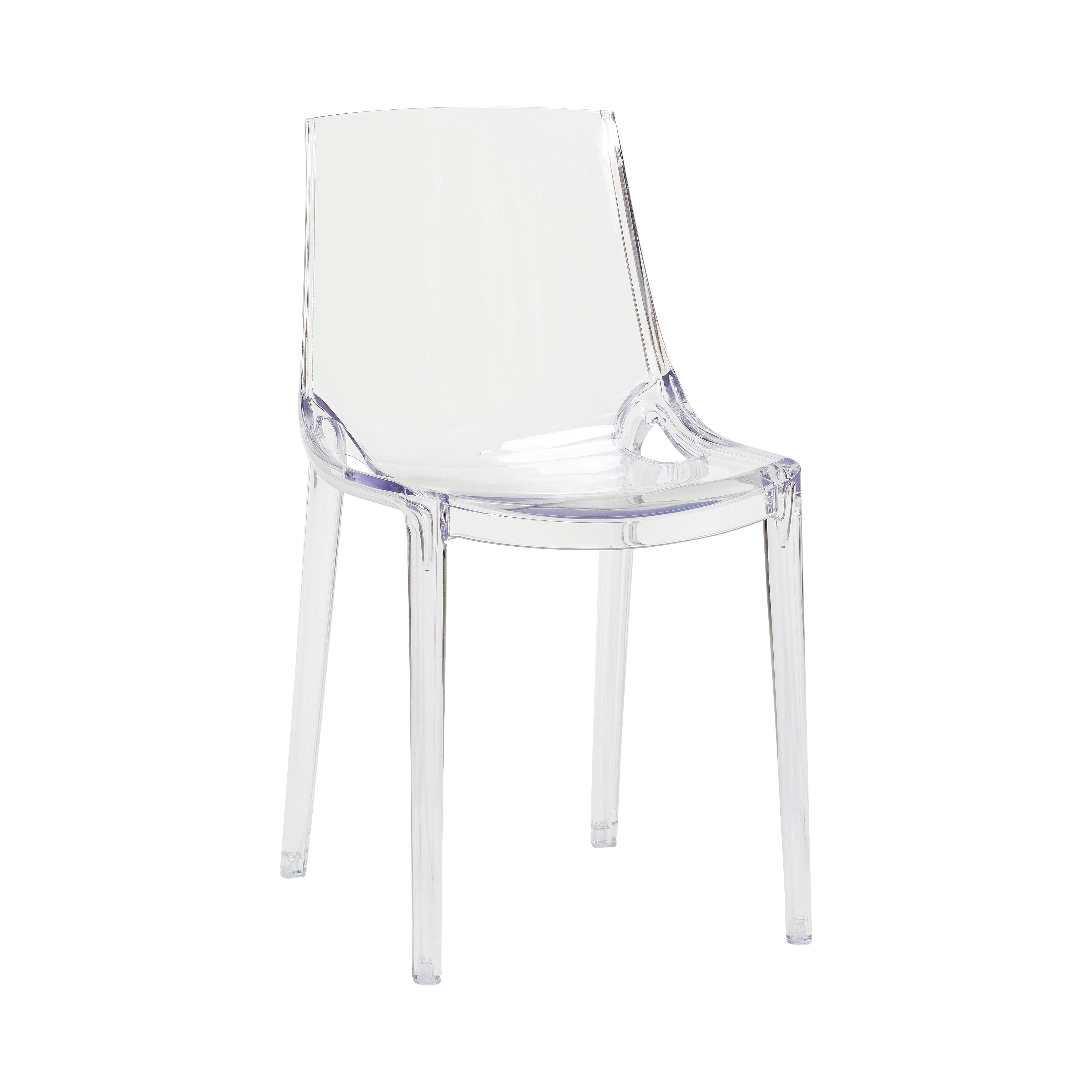 Clear plastic chair Product number Designed by Hübsch
