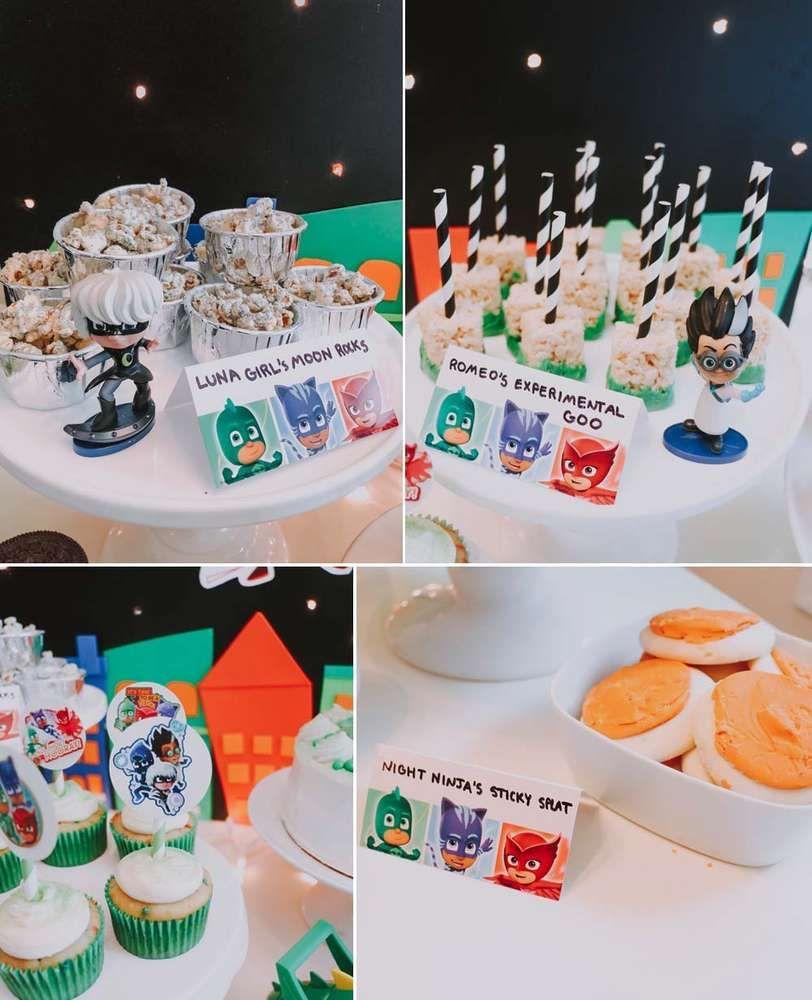Pin on Adams PJ Masks Birthday Party
