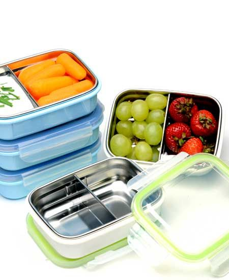 Versatile Food Storage Container Solution stainless