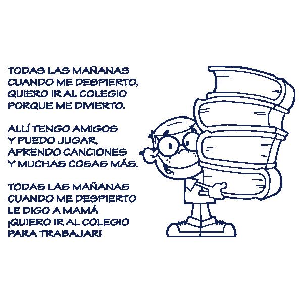 Vinilo Decorativo Niño y Poema