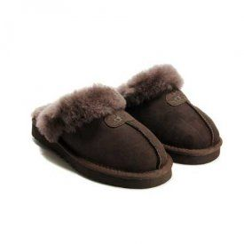 dedbcd8924a Fake ugg slippers 5125 chocolate $48.00 www.pintuggsboots.net | Fake ...