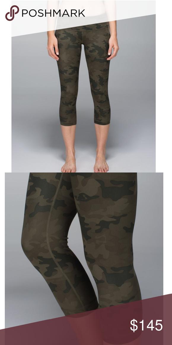 6325429e2a Lululemon Wunder Under Savannah Camo Leggings Camouflage patterned Lululemon  Wunder Under Savannah Camo Leggings, never been worn, brand new, ...