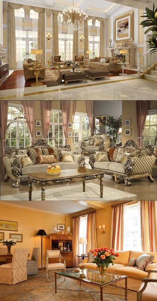 Victorian Living Room Curtain Ideas - Victorian Style - http ...