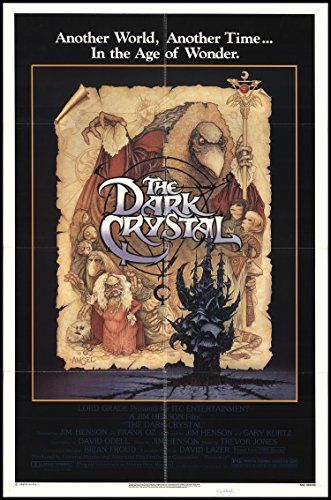 The Dark Crystal 1982 Thorn EMI VHS/Beta POSTER Adventure