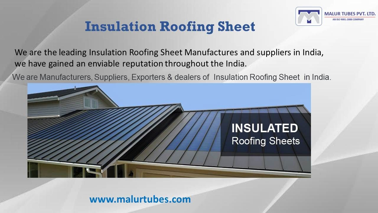 Insulation Roofing Sheet Panel Roofing Sheets Roofing Roof Panels