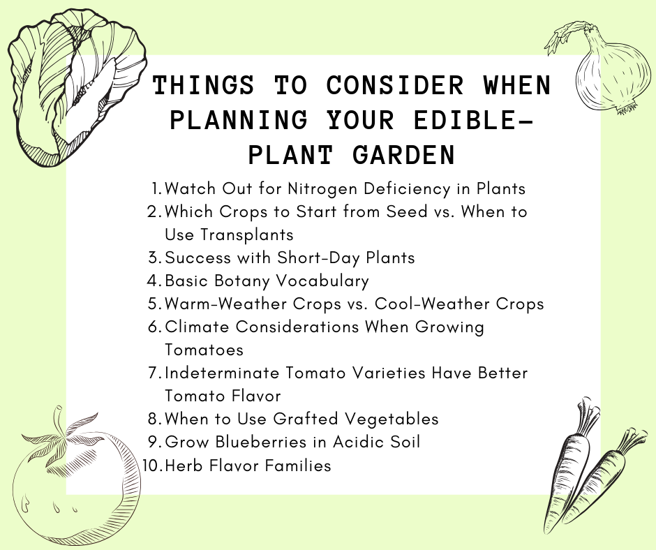 10 Fascinating Edible Plant Facts Gardeners Need To Learn With