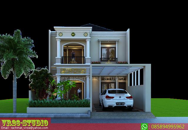 3d Visualizer Desain Rumah Idaman Klasik Modern 2 Lantai Home Fashion Desain Rumah Modern