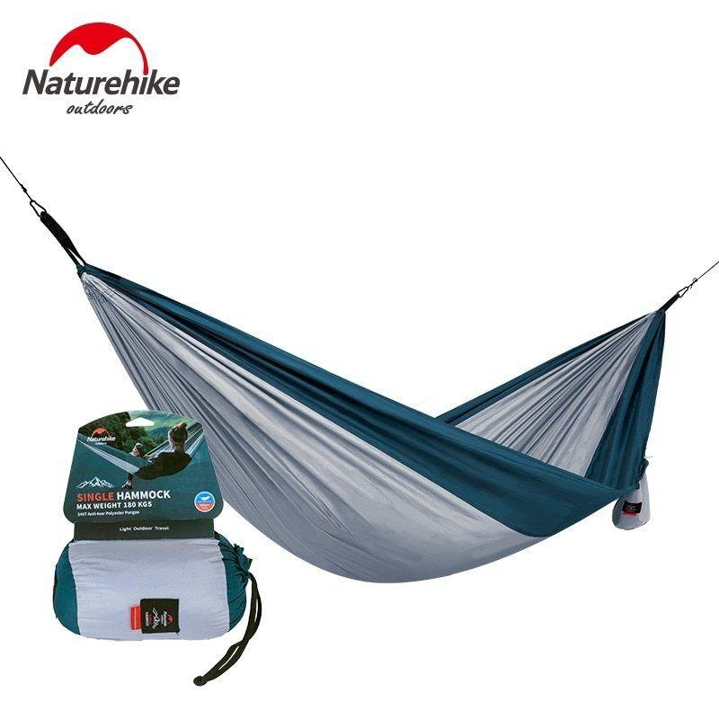 Camping Nylon Hammock Suspension Outdoor Travel Camping Swing Hanging Bed Hiking