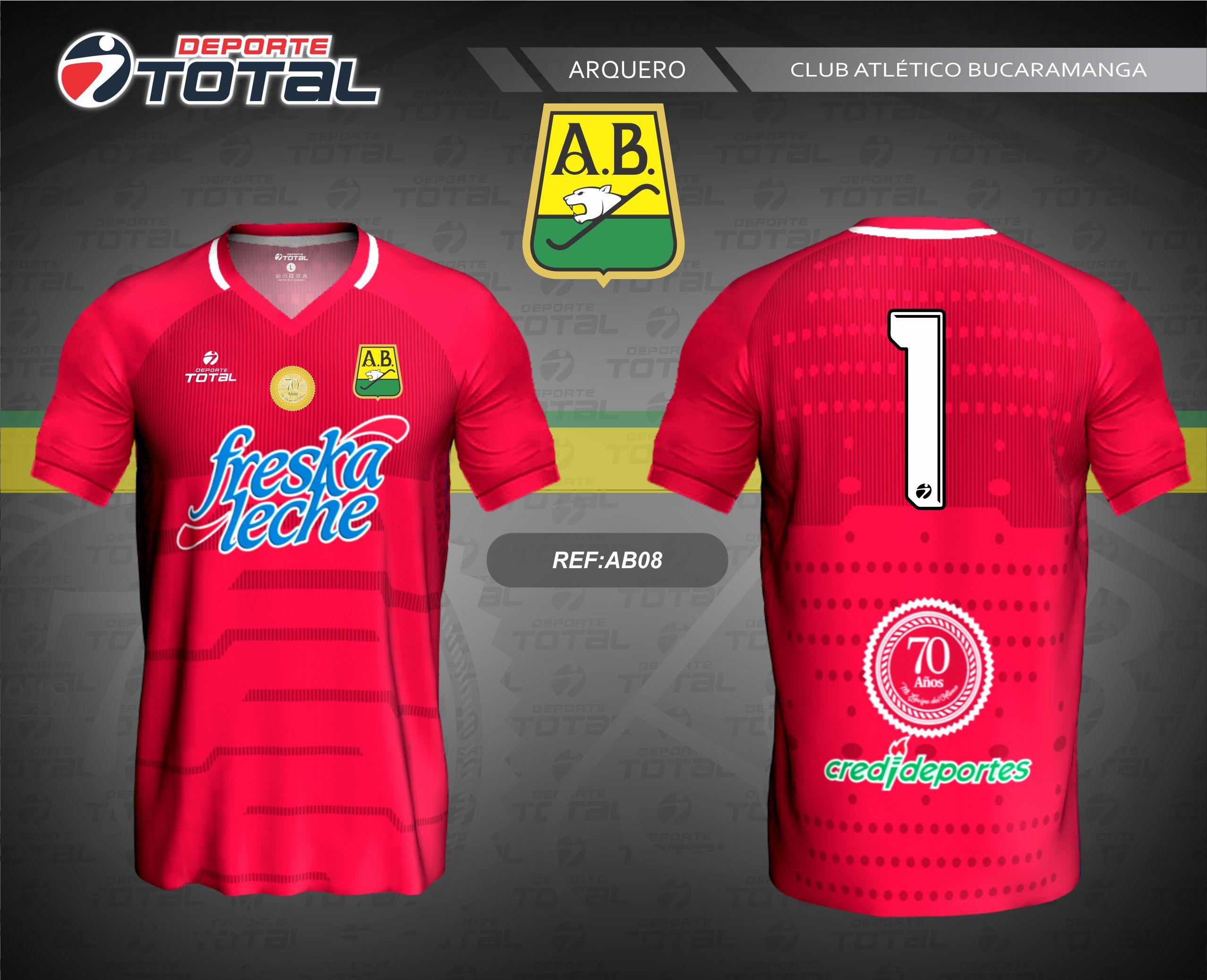 c8ec4cd2b4bef Camiseta de Arquero - deporte total-atletico bucaramanga- 2018-camiseta- uniforme-