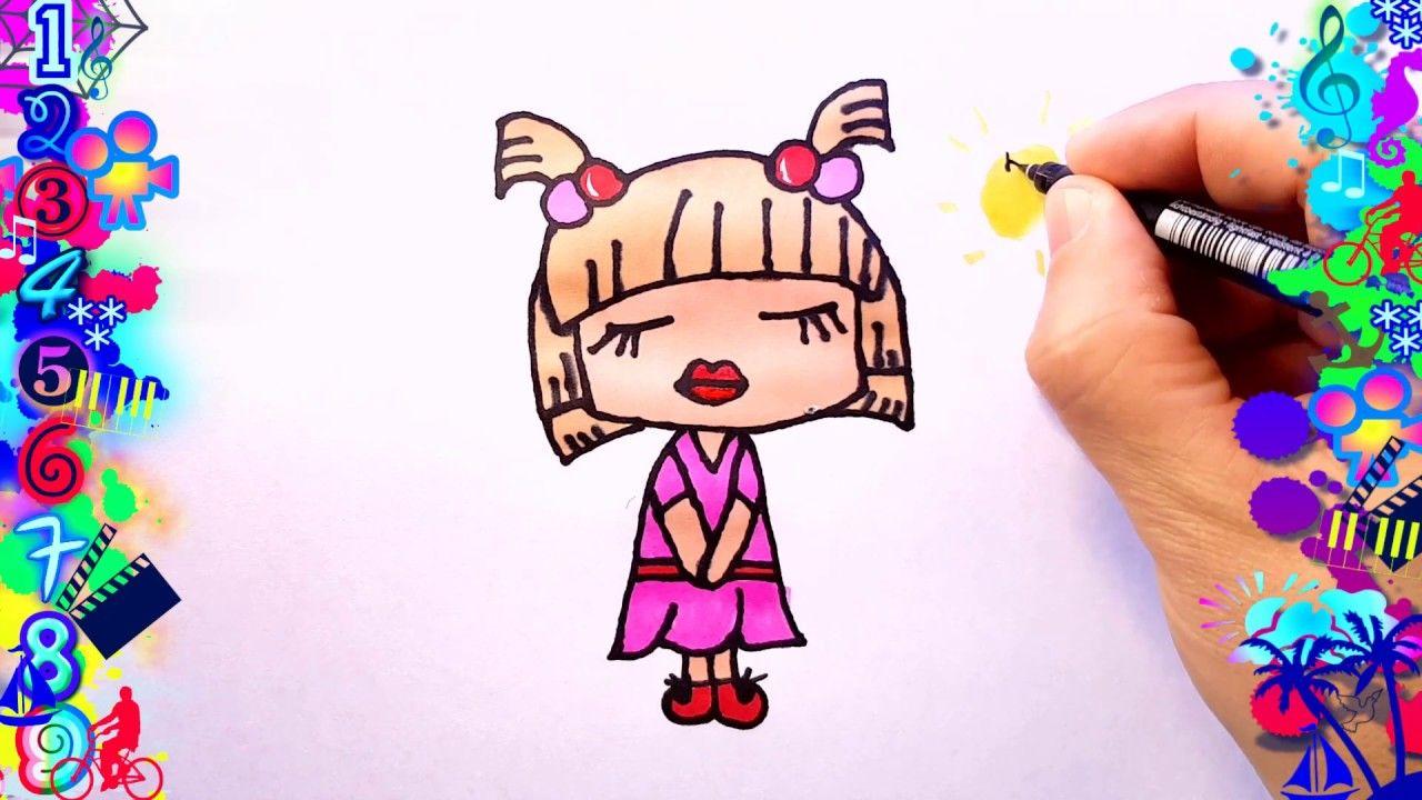 Dibujos Faciles Para Ninos Nina Bonita Dibujos Dibujo Facil
