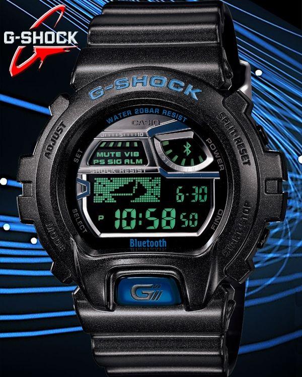 ece07eb4281 CASIO G-SHOCK Bluetooth® v4.0