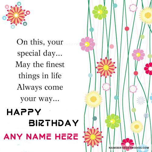 Remarkable Best Happy Birthday Quotes With Name With Images Birthday Funny Birthday Cards Online Sheoxdamsfinfo