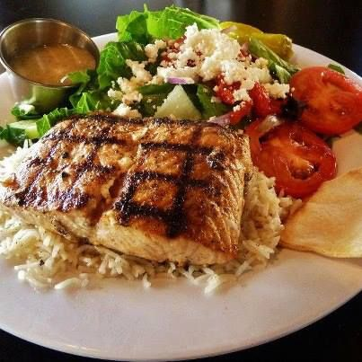 Grilled Salmon Goodness From Taziki S Mediterranean Cafe