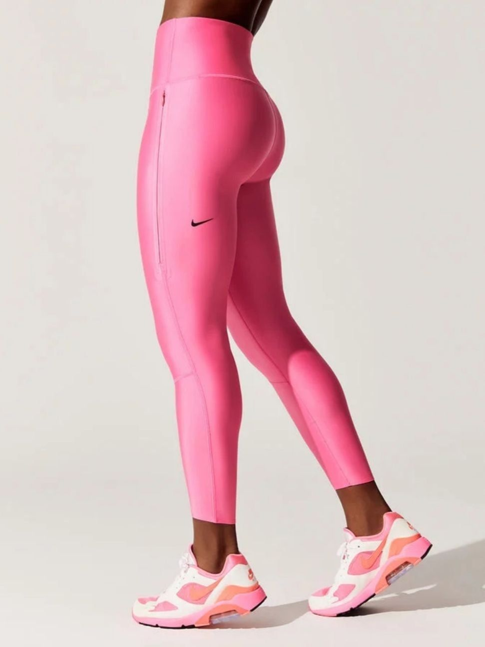 New with tags, neon pink Nike Leggings. (With images