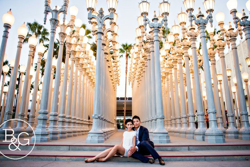 Kathryn Will Lacma Engagement Session Los Angeles Wedding Photographer Http Los Angeles Engagement Photos Lacma Engagement Los Angeles Wedding Photographer