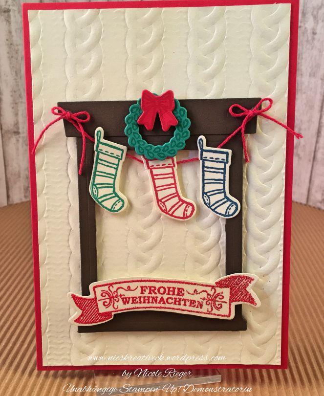 Amerikanische Weihnachtskarten.Am Heimeligen Kamin Oder Christmas Special Inspire Me Challenge
