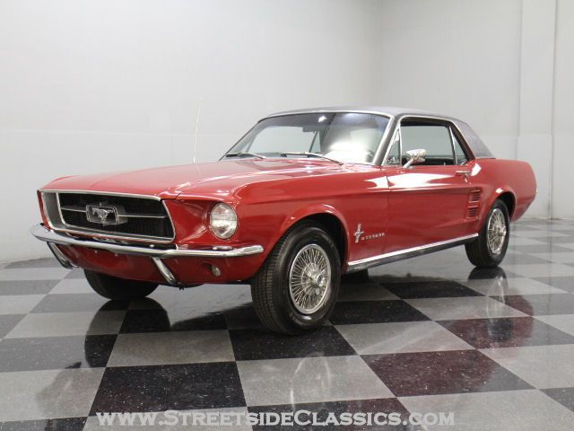 1967 Ford Mustang Coupe A Code 289 4 Barrel Car Vintage Mustang Ford Mustang Coupe Ford Mustang