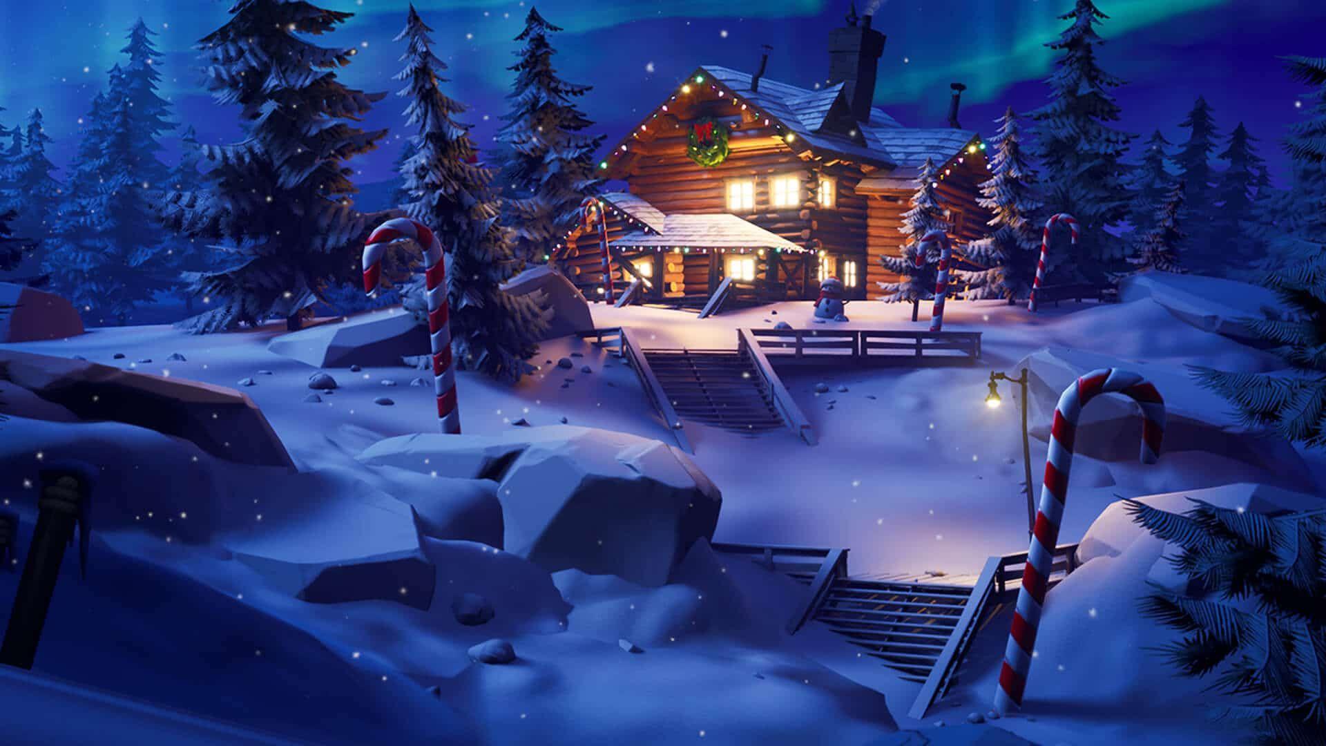 Full Screen Fortnite Christmas Wallpaper Hd