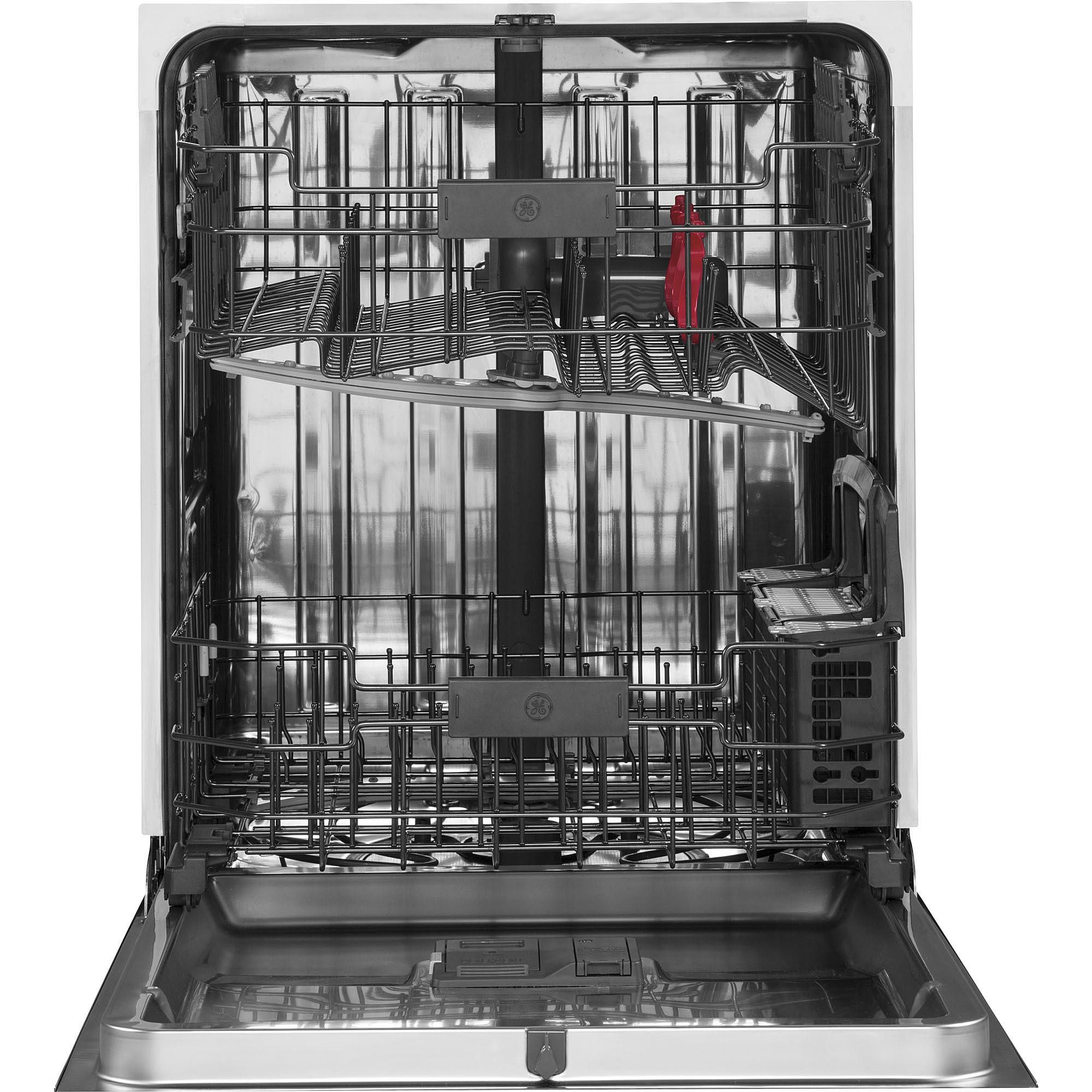 Ge Appliances Gdt655smjes 24 In Built In Dishwasher W Piranha