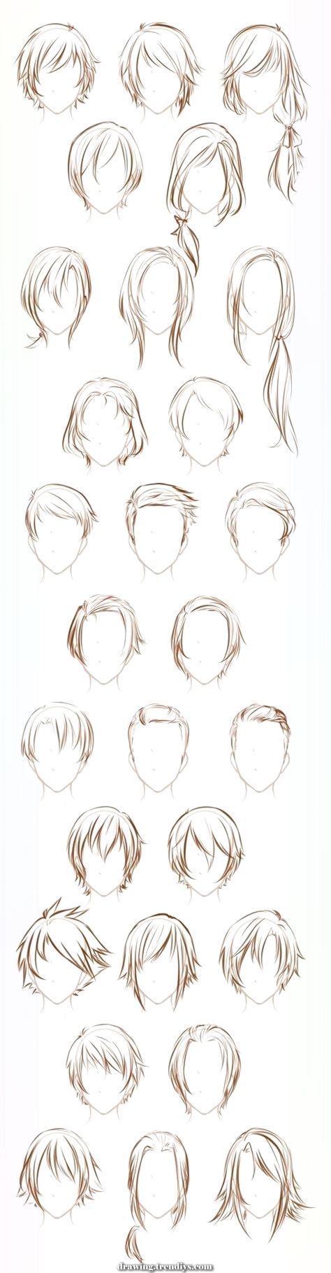 Unique And Creative The Hair Of The Artwork Of Drawing Allusive Tremendous Conce Drawing Sketches Drawing Hair Tutorial How To Draw Hair Anime Hair
