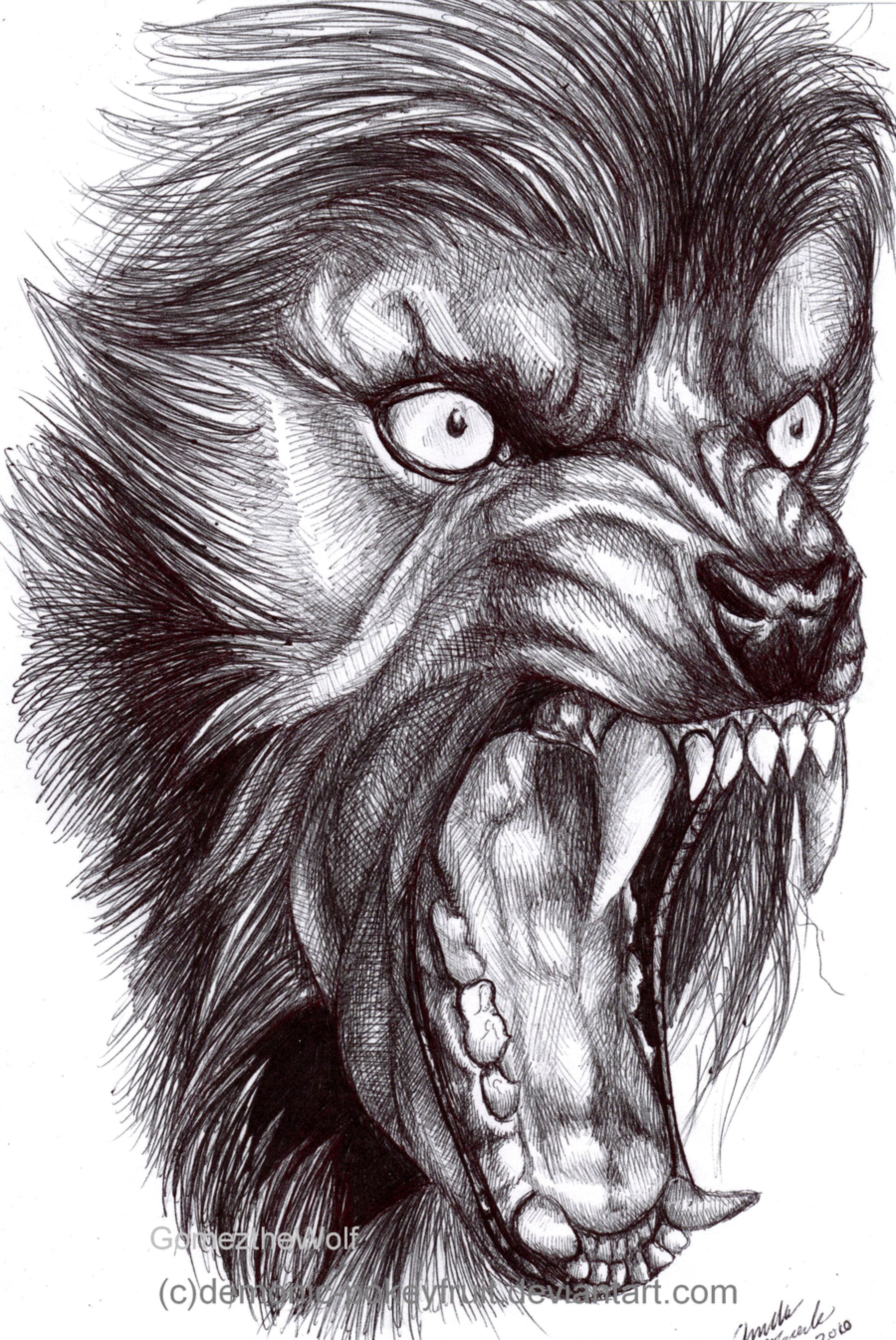 The American Werewolf by Demonic-Pokeyfruit on @DeviantArt ...