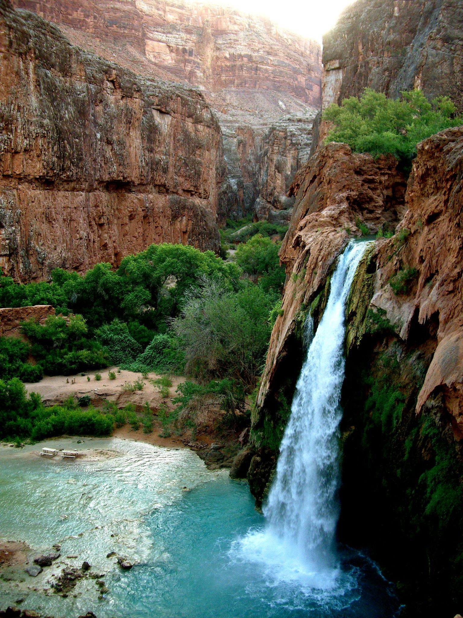Havasupai, probably one of the most beautiful places in the world.