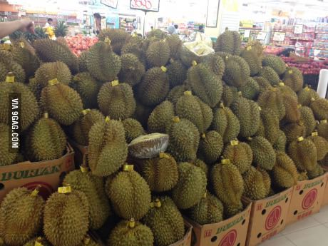 This is durian festival. wanna try?