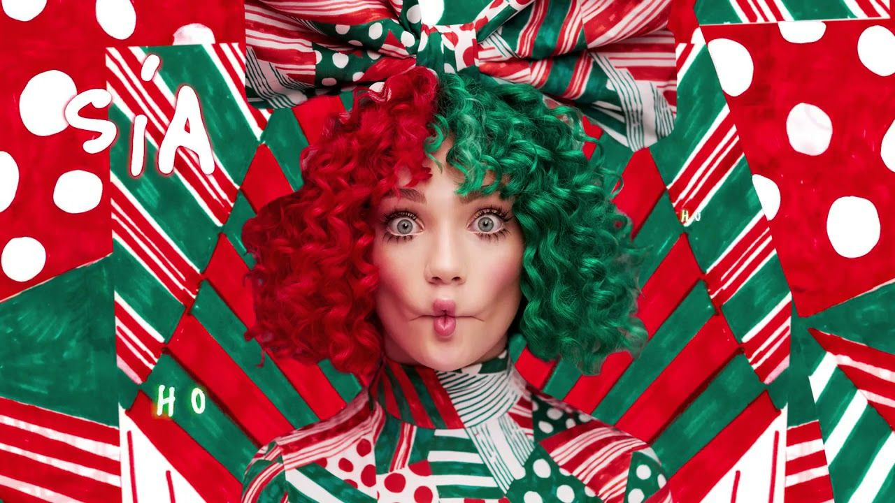 Sia Ho Ho Ho music video lyrics in discription New