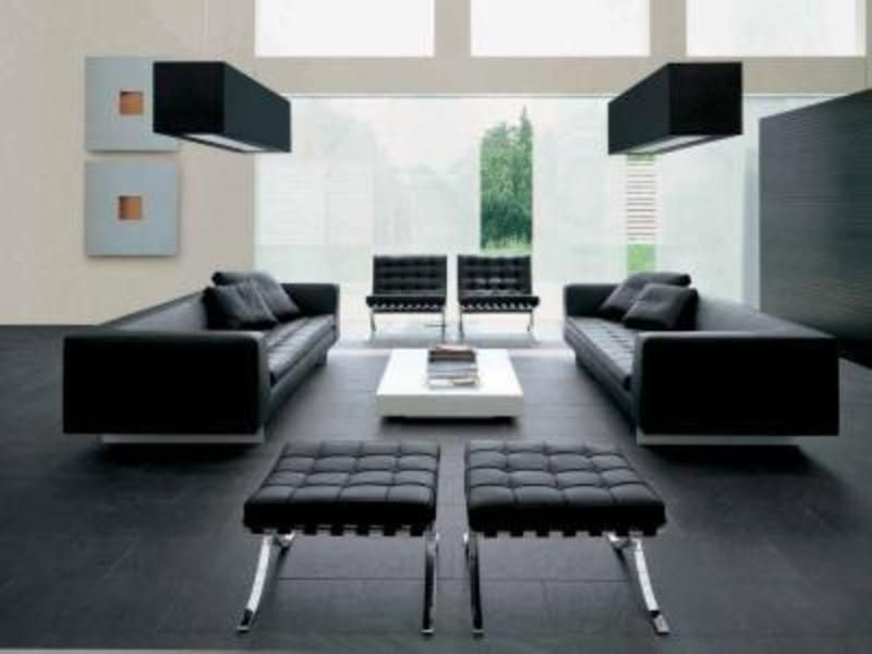 Contemporary furniture contemporary furniture can be for Sofas piel barcelona