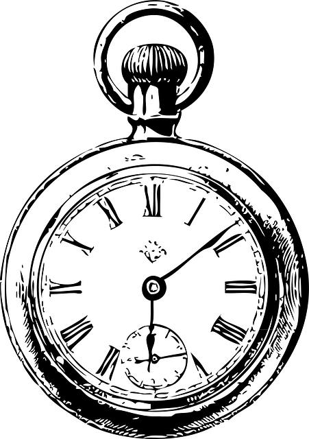free image on pixabay clocks watch black and white old clocks rh pinterest com vintage wall clock clipart Vintage Midnight Clock Clip Art