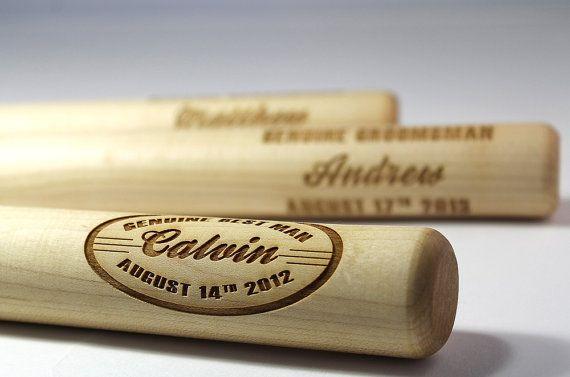 Baseball Wedding Gifts: Personalized Baseball Bat, Gifts For Boys, All Star Team