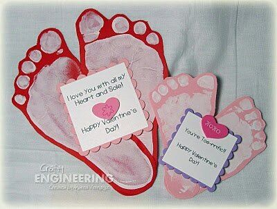 The Sweetest Baby Print Ideas You Will Find  Craft Valentine
