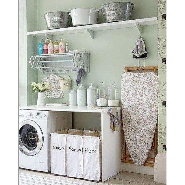 Tudo no lugar na lavanderia! #frescurasdatati #lavanderia #tudonolugar #inspiração