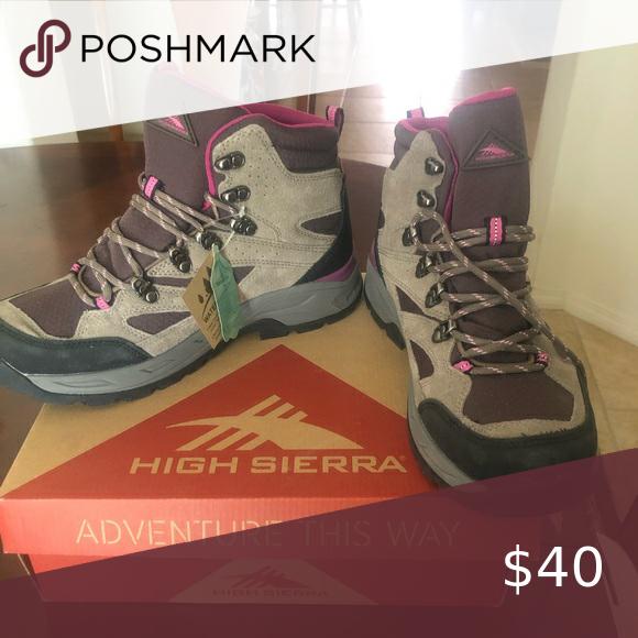 Women's High Sierra Hiking boots New in