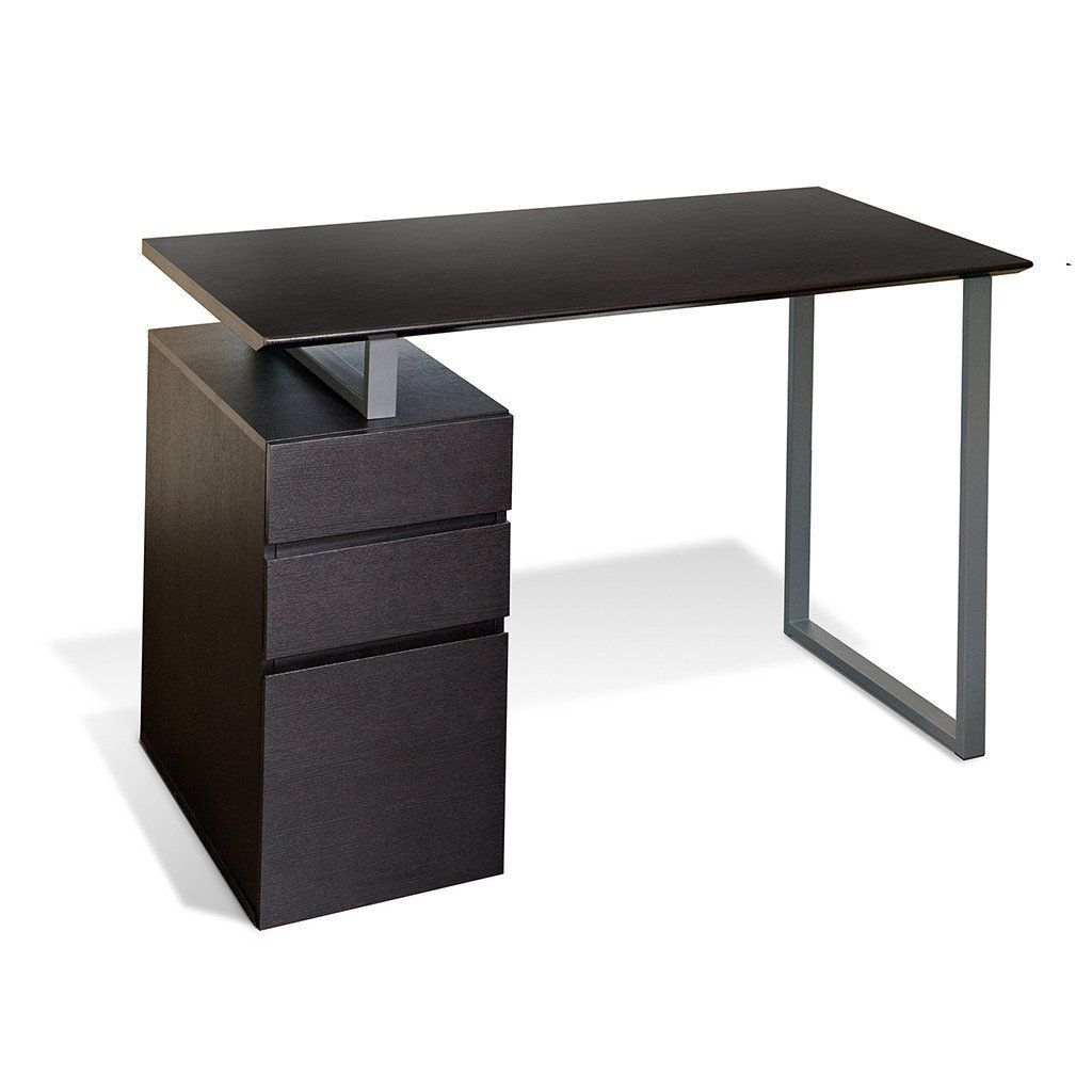 200 Series: Writing Desk With Drawers In Espresso By