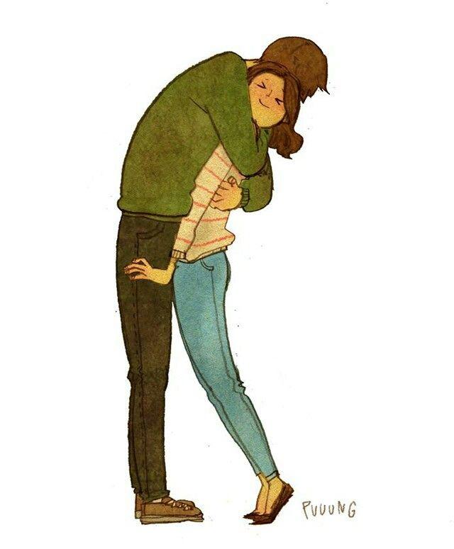 Tus Abrazos Ilustraciones Ilustracion Del Amor Historieta De Amor