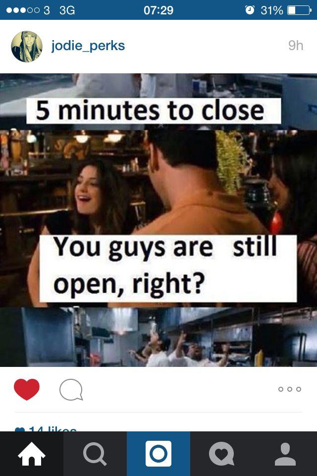 e1166d68a581e870e5ebdd0f63c95882 bar problems clubs restaurants 5 minutes left meme drink drink