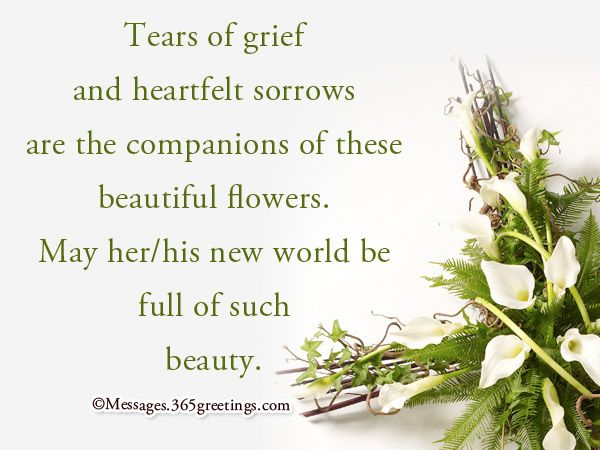 Image Result For Funeral Flowers Card  Funeral