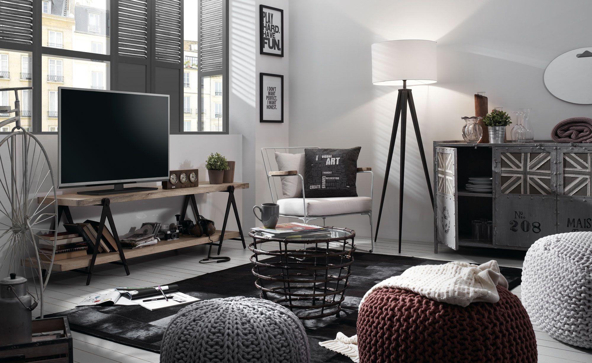 dormitorio vintage industrial - Buscar con Google  Living room