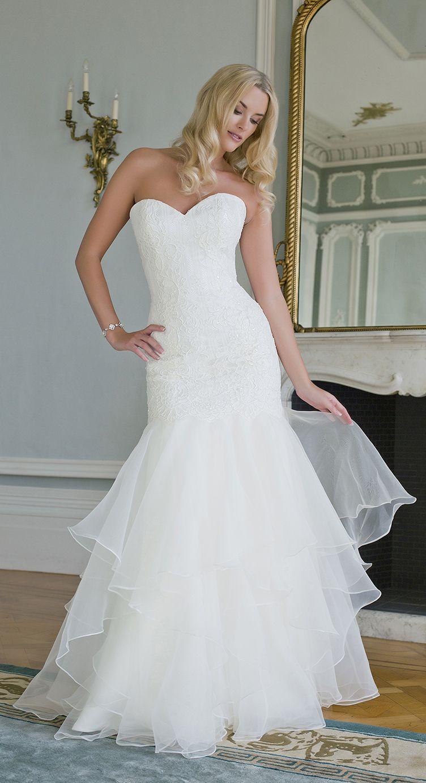 Piper - the strapless version. By Augusta Jones | Wedding Dresses ...