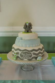 aqua lime green grey baby shower | Docerela shop - green lime & blue straws