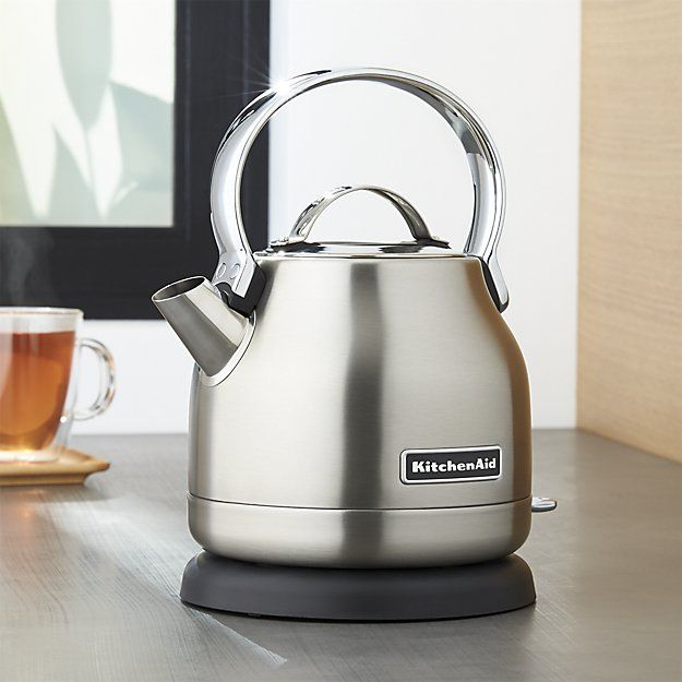 Kitchenaid 174 Silver Electric Kettle Kettle Stainless