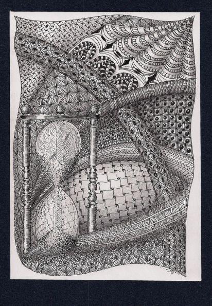(Pigmenttusche, Graphit; 21×14,7cm) - GMR-SB-3012