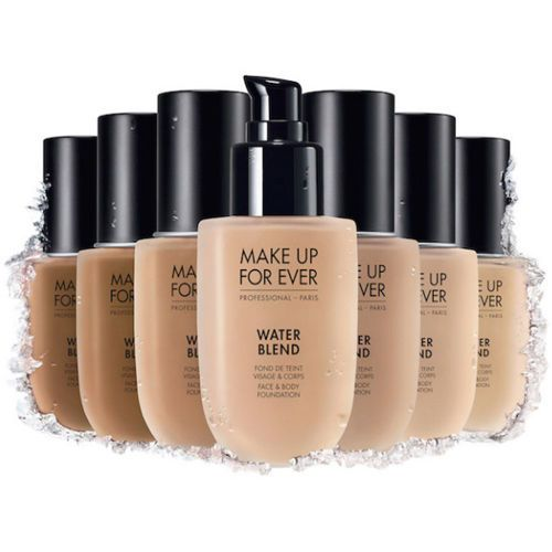 Details About Make Up For Ever Water Blend Foundation 50ml R210 R240 R250 Y215 Y225 Y245 Y325 Body Foundation Face Body Makeup