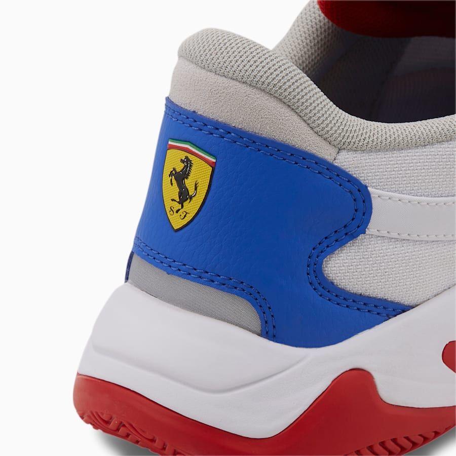 Scuderia Ferrari Storm Men's Trainers | White-Silver-Black | PUMA Scuderia Ferrari | PUMA United Kingdom
