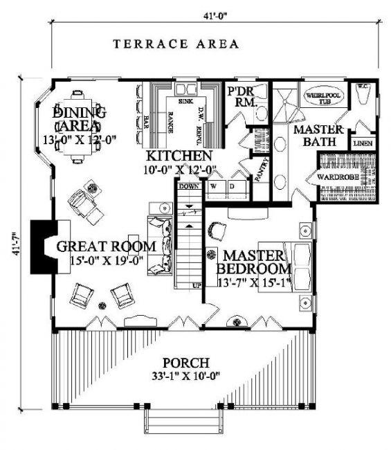 William E Poole Designs Cajun Cottage Cajun Cottage Beach Cottage House Plans Cottage House Plans